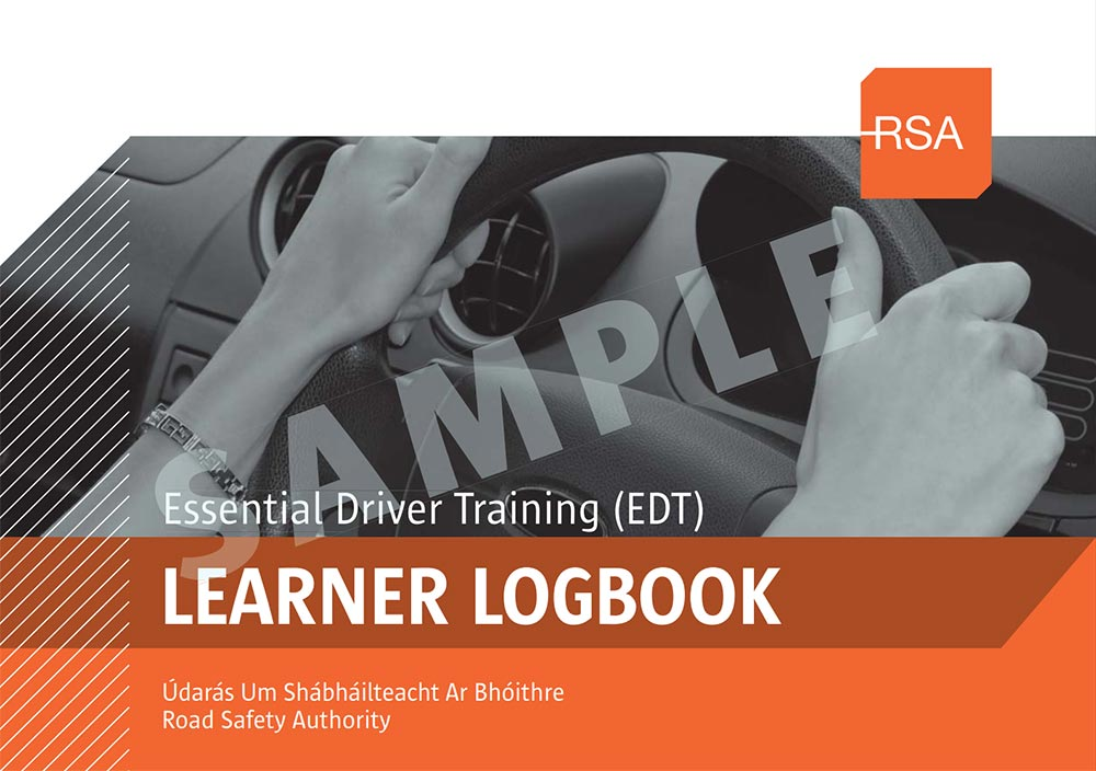 RSA Essential Driver Training (EDT) Log Book