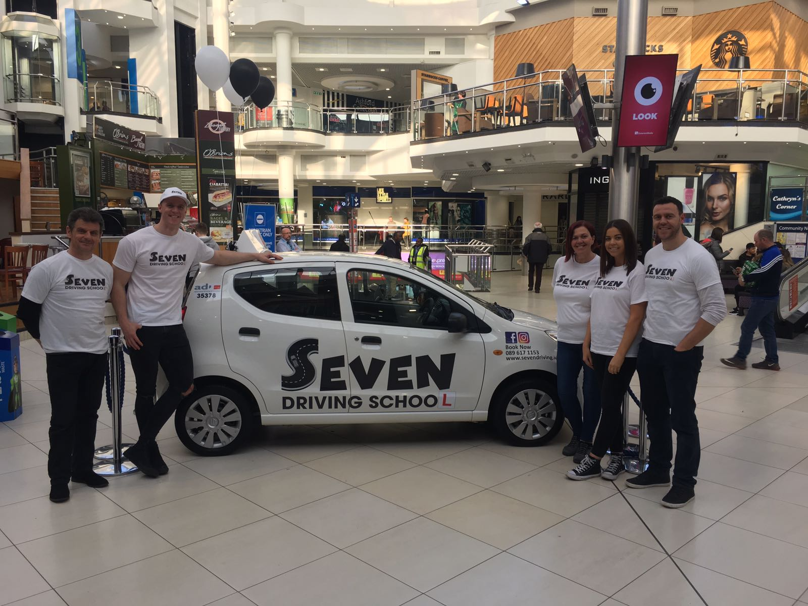 Seven Driving School Promo Day at The Square Tallaght